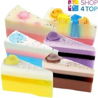 BOMB COSMETICS SOAP BAR CAKE SLICE HANDMADE NATURAL MADE IN UK NEW