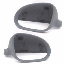 Vw Golf Mk5 Izquierdo Y Derecho Puerta Lateral ala Espejo Cubre Tapas Carcazas Carcasas Par