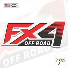 FX4 Off Road Decal Replacement Sticker | Ford F 150 | Bedside Off Road Emblem