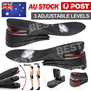 Shoes Insoles Air Cushion Height Increase Heel Gel Inserts Taller Lifts Pad OZ