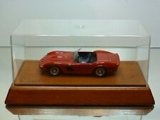 VIRUS FERRARI 250 GTO SPYDER 1962 - RED 1:43 VERY RARE - EXCELLENT IN BOX