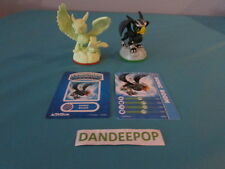 Skylanders Figures 2 Sonic Boom First Edition W/ cards Activision video Game