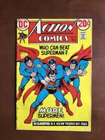 Action Comics #418 (1972) 5.0 VG DC Key Issue Bronze Age Comic Book Superman