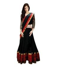 Black and Red Designer Lehenga choli for Girls & Women sevenfold