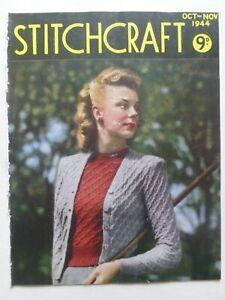 STITCHCRAFT October – November 1944 - Needlework Magazine