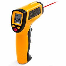 Digital Lcd Temperature Gun Non Contact Laser Infrared Thermometer Heat Sensor