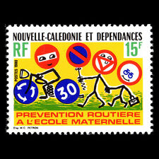 New Caledonia 1980 - Safety on School Route - Sc 456 Mnh
