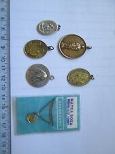 New listinglot vintage religious medals medallions Catholic French Polish
