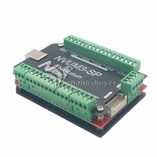 CNC USB MACH3 Breakout Board 3-Axis Controller 100KHz for Stepper Motor NVUM3-SP