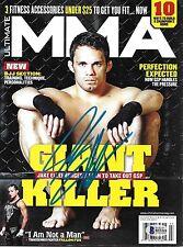 Jake Ellenberger Signed 2013 Ultimate MMA Magazine BAS Beckett COA UFC Autograph