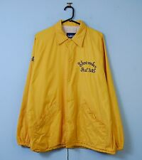 Vintage Coach Jacket in Yellow Retro Bomber Windbreaker Large