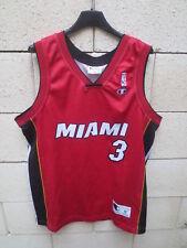 Maillot basket Dwyane WADE 3 HEAT MIAMI shirt CHAMPION USA NBA jersey camiseta M