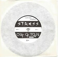 """STRESS - PLAYING GAMES - EX++ OUT OF TOWN RECORDS RARE INDIE 7"""" SINGLE"""