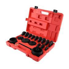 23PCS Front Wheel Drive Bearing Removal Adapter Puller Pulley Tool Kits Box UK