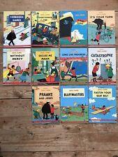 Quick & Flupke Euro Books Eurobooks Full Set 11 Books Like New Tintin Herge