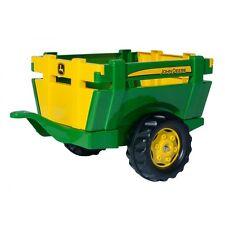 Rolly Toys John Deere Farm Trailer   Anhänger Kipper Trailer grün/gelb