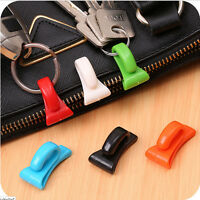 2Pcs Plastic Hangers Key Ring Chain Holder Hook Handbag ShoulderBag Organizer LB