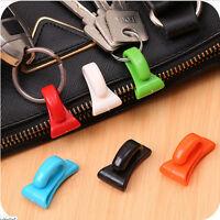 2Pcs Plastic Hangers Key Ring Chain Holder Hook Handbag Shoulder Bag Organizer F