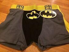 B30 NEW DC Comics Batman Men's Brief Boxer with Cape attachment SZ S small caped