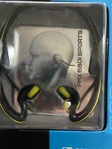 SENNHEISER PMX 680i Black/yellow SPORTS in Ear Neckband Adidas HeadPhones