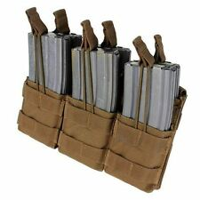 Condor MA44 Triple Stacker Mag Pouch for 5.56 & .233 Rifle Coyote Brown