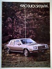 1980 Buick Skylark Brochure