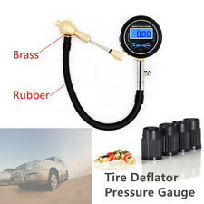 Universal Digital Truck Wheel Pressure Gauge Self Locking Head Easy To Connect