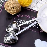 Stainless Steel Loose Tea Infuser Leaf Strainer Filter Diffuser Herbal Spice New