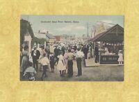 MA Nahant 1908-15 postcard BOULEVARD BASS POINT MASS BOWLING ALLEY SIGN