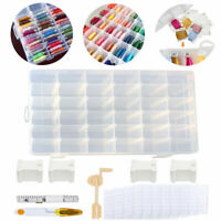 Pack Of 1000 Plastic Floss Bobbins For Cross Stitch Thread Holder Organizer 1.5/""