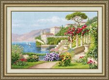 """Counted Cross Stitch Kit GOLDEN FLEECE DL-034 - """"Flowering Italy"""""""