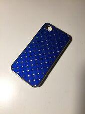 Coque Iphone 4 4s Bleu Apple Telephone Phone Blue Cap Cover