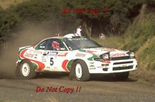 Didier Auriol Toyota Celica Turbo 4WD Winner New Zealnd Rally 1994 Photograph 3