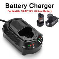 Li-ion battery Charger Lithium for Makita BL1013 BL1014 10.8V-12V DC10WA UK Plug