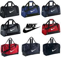 Nike Brasilia / Team Training Gym Sports Football Duffle Kit Bag Holdall XS S M