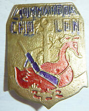 Indochine War - French Foreign Legion - CHOLON COMMANDOS BADGE - Vietnam - 9036