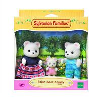 Sylvanian Families Calico Critters Polarstar Polar Bear Family