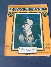 Pays de France 1916 100 SENLIS COMBLES BIACHES MAUREPAS MORVAL RANCOURT BOUCHAVE