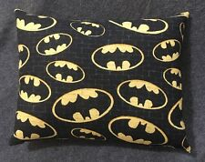 "Cute Handmade Batman Accent - Throw Pillow 10"" x 8"""
