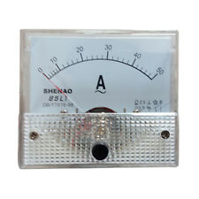 Electrical Current LED Yellow Amperemeter 0.36 inch 0-50A Ammeter for Gauging HM