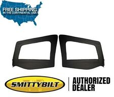 Smittybilt Door Skins Only - No Frames 88-95 Jeep Wrangler YJ 89615 Black