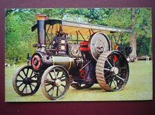 POSTCARD  BURRELL TRACTION ENGINE NO 3586 'WARRIOR'