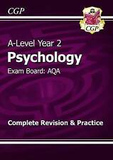 New A-Level Psychology: AQA Year 2 Complete Revision & Practice by CGP Books (P…