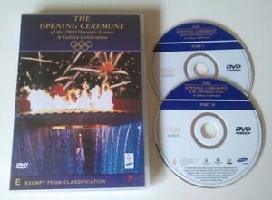 THE OPENING CEREMONY OF THE 2000 OLYMPIC GAMES dvd RARE OOP sydney REGION 0 ALL