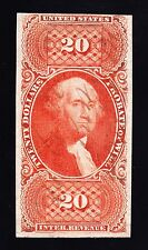 US R99a $20 Probate of Will Revenue Used F-VF w/ PSE Cert SCV $3250