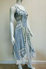 Vtg 80s Darling peasant country hippie boho girl dress Tagged Sz 7 EUC
