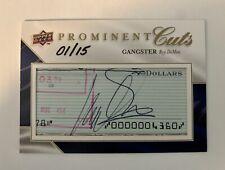 Roy DeMeo PROMINENT CUTS Card Signed Autographed Mafia Mob John Gotti Gambino