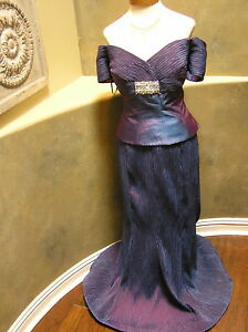 NWOT Daymor 408 Mother of bride MOB Mothers formal occasion dress IRIS 14