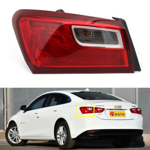Left Driver For Chevrolet Malibu XL 2016 2017 2018 Tail Light Lamp Rear Outer LH