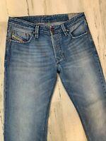 Diesel Larkee Regular Straight Jeans 31x30 Wash ORZ49